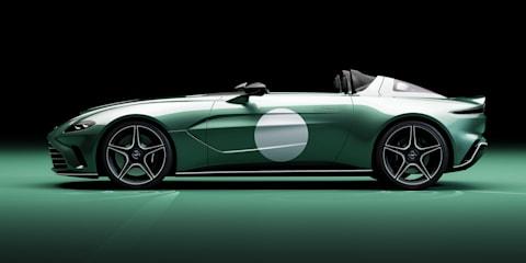 2021阿斯顿马丁V12 Speedster获得DBR1遗产包