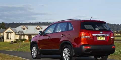 2011 KIA SORENTO SLi Review