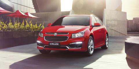 2015 Holden Cruze : New face and features for updated model; diesel and 1.4 turbo axed