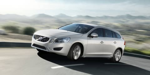 2012 Volvo V60 Plug-In Hybrid diesel revealed