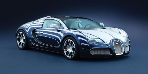 Bugatti Veyron Grand Sport L'Or Blanc world's most expensive car