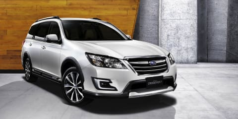 Subaru Exiga Crossover 7 not for Australia