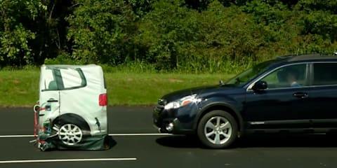 Subaru EyeSight crash avoidance system beats Volvo, Mercedes-Benz