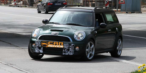 2011 MINI Clubman, MINI Cooper spy photos