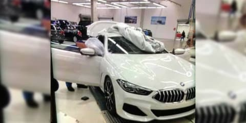 2018 BMW 8 Series spied without diguise