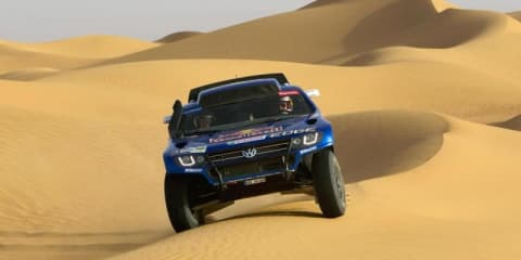 Volkswagen Race Touareg 3 ready for 2011 Dakar Rally
