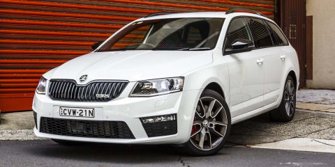 Skoda Octavia RS sales steamrolling along
