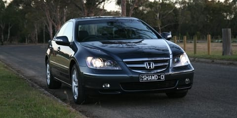 2007 Honda Legend Review