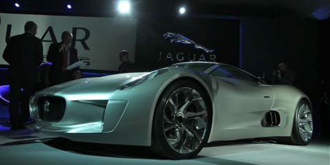 Jaguar C-X75 to be produced in right-hand-drive