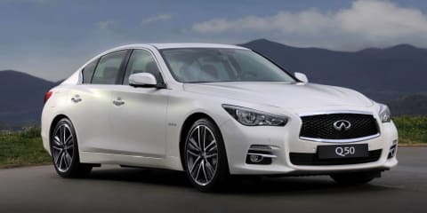 Infiniti Q50 priced from $51,990