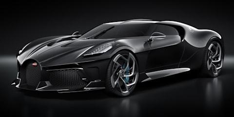 Bugatti La Voiture Noire: $17.6 million hypercar unveiled