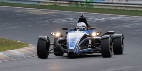 Ford 1.0-litre EcoBoost racer in Oz for Go Further event