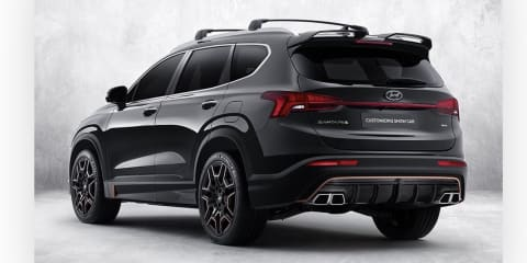 Hyundai Santa Fe gets N-Line treatment, on wish list for Australia