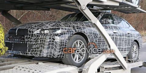 2020 BMW i4 spied