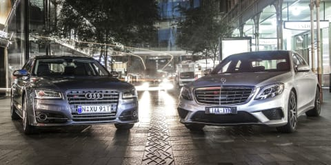 Audi S8 v Mercedes-Benz S63 AMG: Comparison Review
