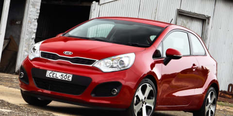 Kia Rio three-door hatch, four-door sedan launched