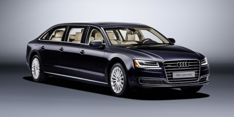 Audi A8L Extended: bespoke six-door limousine revealed