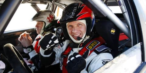 Petter Solberg to continue WRC with suspended licence