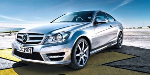 2011 Mercedes-Benz C-Class Coupe first official images