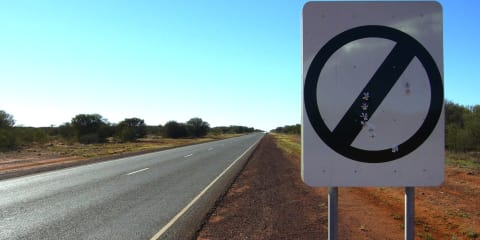 Northern Territory high-speed limits to remain... for manufacturers