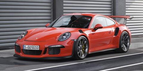 Porsche 911 GT3 RS revealed with 368kW motor; due here in Q3