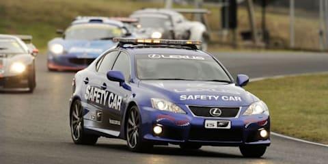 2010 Lexus IS F safety car at Eastern Creek Raceway