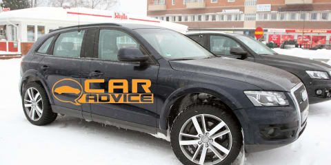 Audi Q6 prototype spy shots