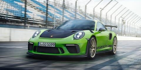 Porsche 911 GT3 RS Nurburgring hot lap - video