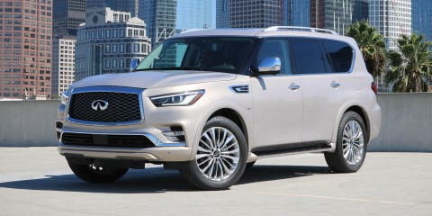2018 Infiniti QX80 facelift unveiled ahead of Dubai show