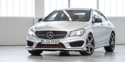 Mercedes-Benz CLA250 Sport : AWD switch for mid-spec compact sedan