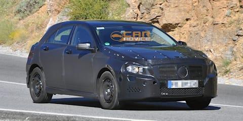 2012 Mercedes-Benz A-Class spy shots