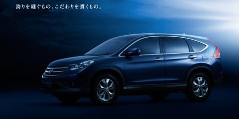 2012 Honda CR-V revealed in official right-hand drive images