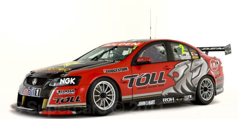 2011 Toll Holden Racing Team Commodore unveiled