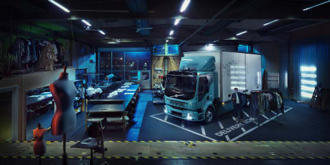 Volvo unveils first all-electric truck