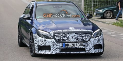 2018 Mercedes-AMG C63 Estate spied