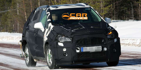 Holden Barina-based SUV spy photos