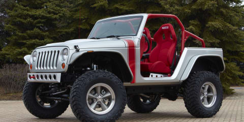 Jeep unveils six new concepts at Moab Easter Jeep Safari