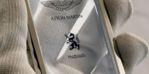 Aston Martin Concept Phone by Mobiado at BaselWorld