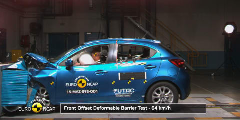 Mazda 2, Fiat 500X score four stars in EuroNCAP crash tests, Suzuki Vitara scores five - UPDATED
