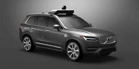 Uber self-driving test permit suspended by Arizona