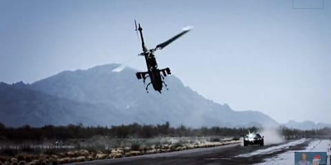 Top Gear helicopter crash caught on film