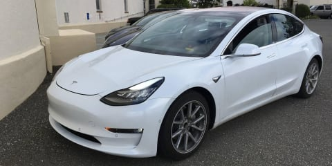 2018 Tesla Model 3 spied and specifications leaked - UPDATE with interior photos