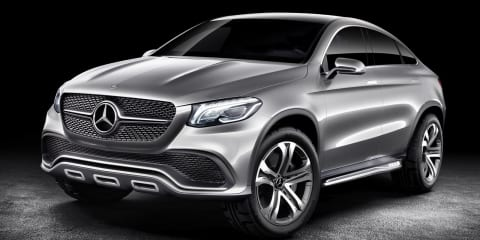 Mercedes-Benz Concept Coupe SUV targets BMW X6