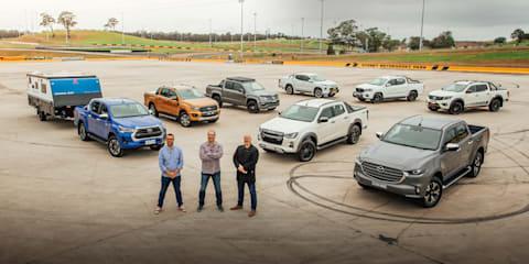 Video: Best ute 2020 comparison: Isuzu D-Max v Mazda BT-50 v Toyota HiLux v Ford Ranger v Mitsubishi Triton v Nissan Navara v VW Amarok vs LDV T60 Trailrider