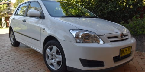 2006 Toyota Corolla Ascent Seca review