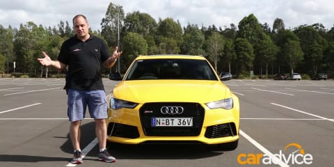 2018 Audi RS6 Avant Performance: Quick tour