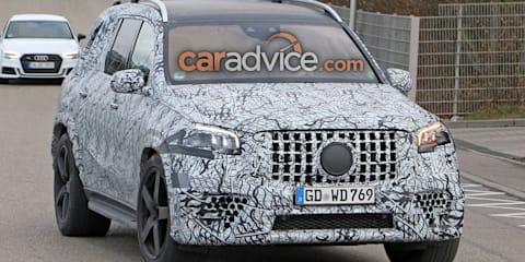 2020 Mercedes-AMG GLS63 spied