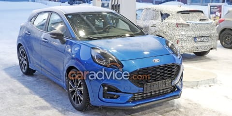 2021 Ford Puma ST spied undisguised