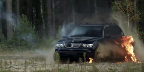 Video: BMW security vehicle test site and procedures