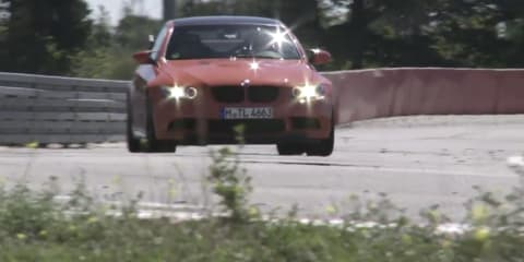 Video: BMW M 'Area 51' secret test track revealed in track day
